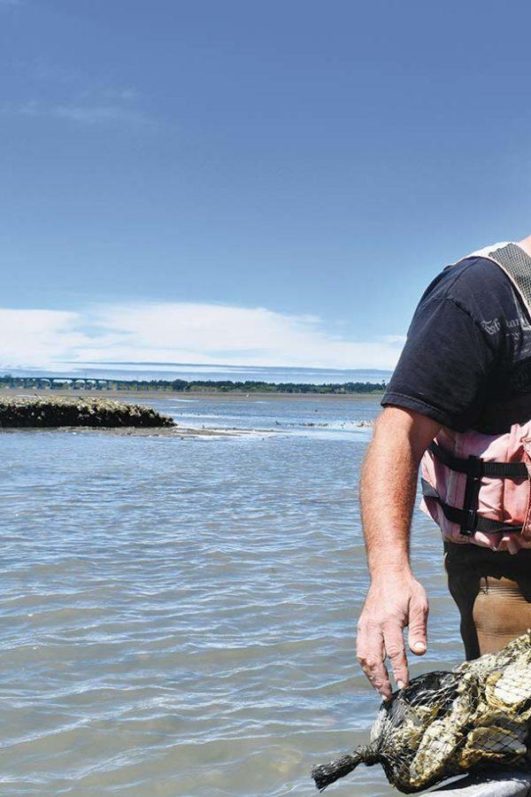 captain-sebastian-turning-oyster-bags